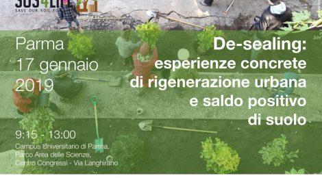 """Seminario Rigenerazione urbana e """"Desealing"""""""