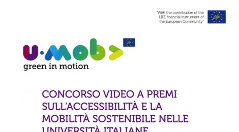 Proroga Concorso video a premi U-Mob Life sulla mobilità sostenibile in Ateneo